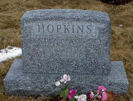 HOPKINS, MARSHALL - Appanoose County, Iowa | MARSHALL HOPKINS