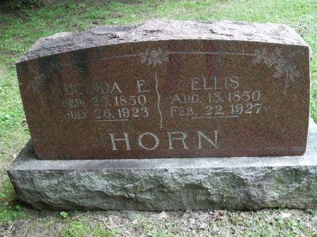 HORN, LUCINDA E. - Appanoose County, Iowa   LUCINDA E. HORN
