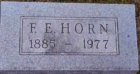 HORN, F.E. - Appanoose County, Iowa   F.E. HORN