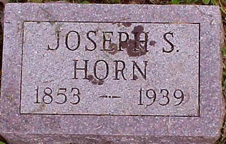 HORN, JOSEPH S. - Appanoose County, Iowa | JOSEPH S. HORN