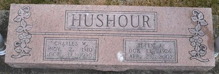 HUSHOUR, CHARLES W. - Appanoose County, Iowa | CHARLES W. HUSHOUR