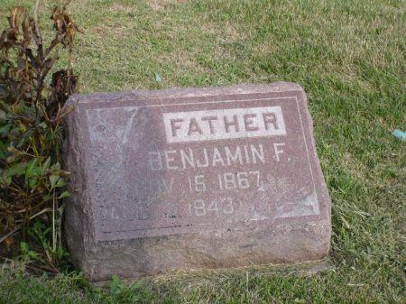 IRWIN, BENJAMIN F. - Appanoose County, Iowa | BENJAMIN F. IRWIN