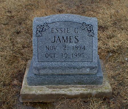JAMES, ESSIE GLADYS - Appanoose County, Iowa | ESSIE GLADYS JAMES