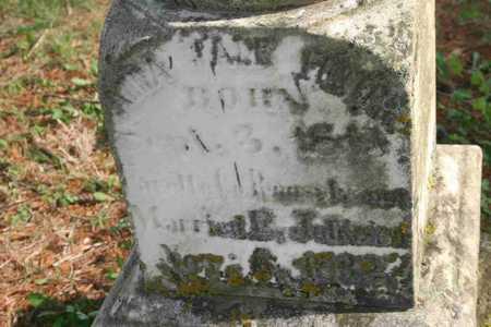 FOSTER JOHNSON, ANNA JANE - Appanoose County, Iowa | ANNA JANE FOSTER JOHNSON