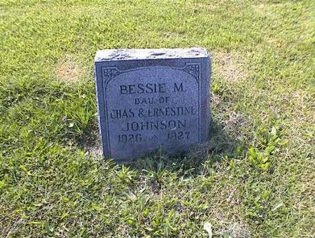 JOHNSON, BESSIE MERIETTA - Appanoose County, Iowa | BESSIE MERIETTA JOHNSON
