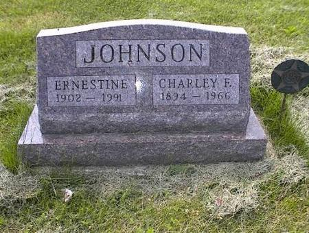 JOHNSON, ERNESTINE & CHARLEY F. - Appanoose County, Iowa | ERNESTINE & CHARLEY F. JOHNSON