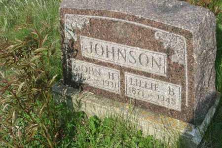 JOHNSON, LILLIE B. - Appanoose County, Iowa | LILLIE B. JOHNSON