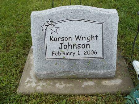 JOHNSON, KARSON WRIGHT - Appanoose County, Iowa | KARSON WRIGHT JOHNSON