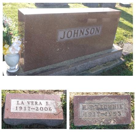 JOHNSON, LA VERA E. - Appanoose County, Iowa   LA VERA E. JOHNSON