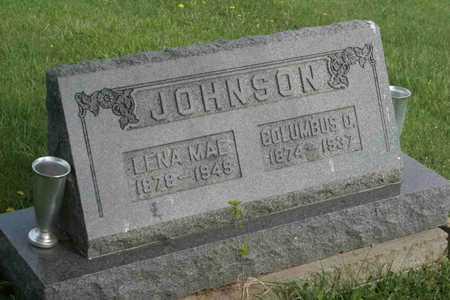 JOHNSON, LENA MAE - Appanoose County, Iowa | LENA MAE JOHNSON