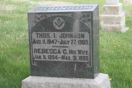 JOHNSON, REBECCA C. - Appanoose County, Iowa | REBECCA C. JOHNSON