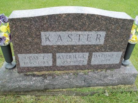 KASTER, DAPHNE L. - Appanoose County, Iowa | DAPHNE L. KASTER