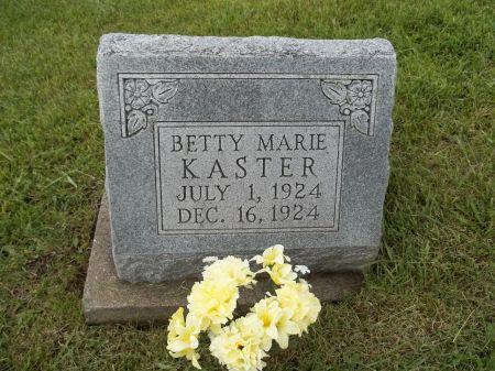 KASTER, BETTY MARIE - Appanoose County, Iowa | BETTY MARIE KASTER