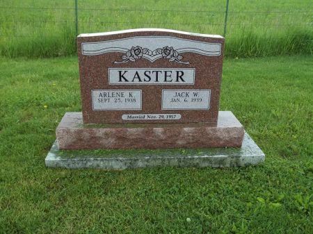 KASTER, ARLENE K. - Appanoose County, Iowa   ARLENE K. KASTER