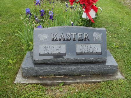 KASTER, MAXINE M. - Appanoose County, Iowa | MAXINE M. KASTER