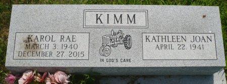 KIMM, KAROL RAE - Appanoose County, Iowa | KAROL RAE KIMM