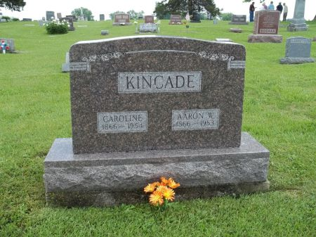 HINER KINCADE, SUSAN CAROLINE - Appanoose County, Iowa   SUSAN CAROLINE HINER KINCADE