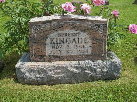 KINCADE, HERBERT H. - Appanoose County, Iowa   HERBERT H. KINCADE