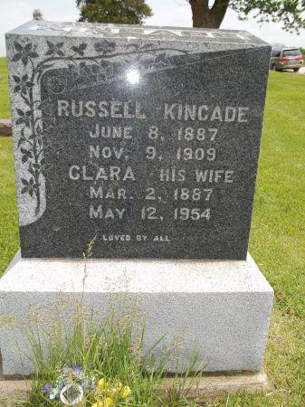 BOYER KINCADE, CLARA ELLEN - Appanoose County, Iowa | CLARA ELLEN BOYER KINCADE