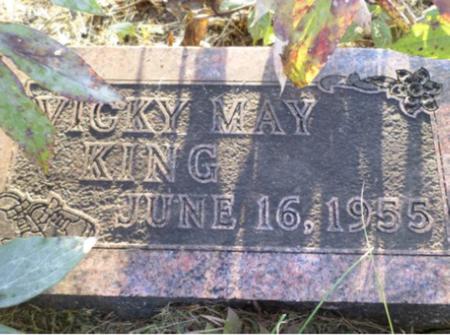 KING, VICKY MAY - Appanoose County, Iowa   VICKY MAY KING