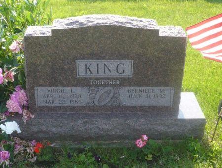 KING, VIRGIL L - Appanoose County, Iowa   VIRGIL L KING