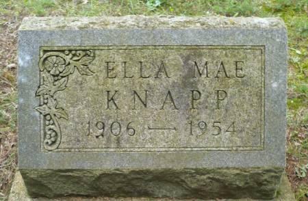 KNAPP, ELLA MAE - Appanoose County, Iowa | ELLA MAE KNAPP