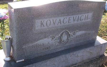 KOVACEVICH, NINA A. - Appanoose County, Iowa | NINA A. KOVACEVICH