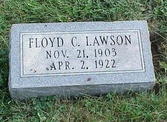 LAWSON, FLOYD C. - Appanoose County, Iowa | FLOYD C. LAWSON