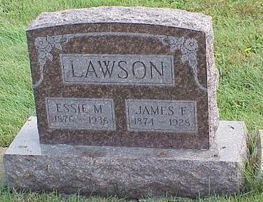 LAWSON, JAMES FRANCIS - Appanoose County, Iowa | JAMES FRANCIS LAWSON