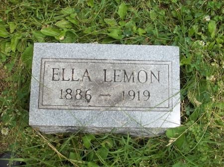 LEMON, ELLA - Appanoose County, Iowa | ELLA LEMON