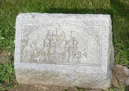 LEVER, ELLA F. - Appanoose County, Iowa | ELLA F. LEVER