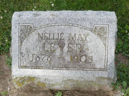 LEVER, NELLIE MAY - Appanoose County, Iowa | NELLIE MAY LEVER