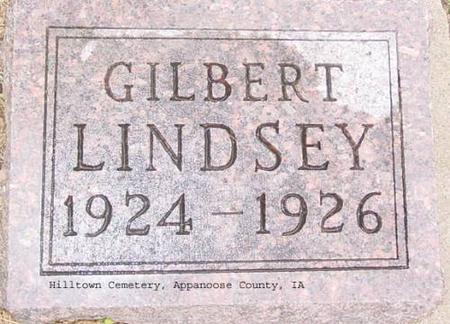 LINDSEY, GILBERT - Appanoose County, Iowa | GILBERT LINDSEY
