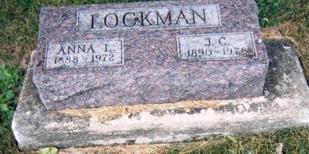 VAN DORIN LOCKMAN, ANNA L - Appanoose County, Iowa | ANNA L VAN DORIN LOCKMAN