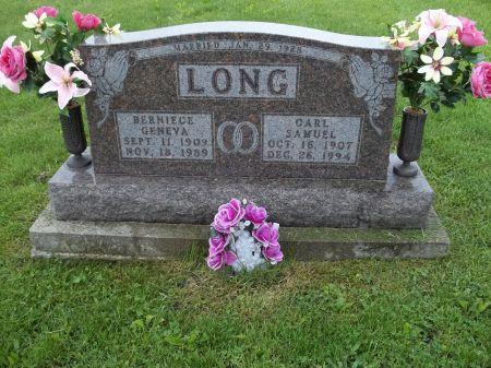 LONG, BERNIECE GENEVA - Appanoose County, Iowa   BERNIECE GENEVA LONG