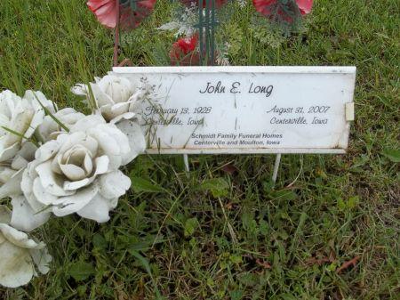 LONG, JOHN E. - Appanoose County, Iowa | JOHN E. LONG