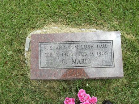 LUSE, G. MARIE - Appanoose County, Iowa | G. MARIE LUSE