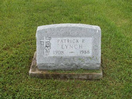 LYNCH, PATRICK P. - Appanoose County, Iowa | PATRICK P. LYNCH