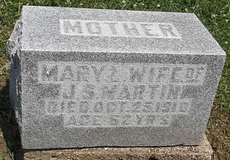 MARTIN, MARY L. - Appanoose County, Iowa   MARY L. MARTIN
