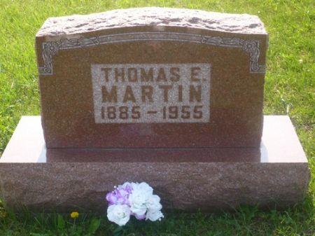 MARTIN, THOMAS E. - Appanoose County, Iowa   THOMAS E. MARTIN