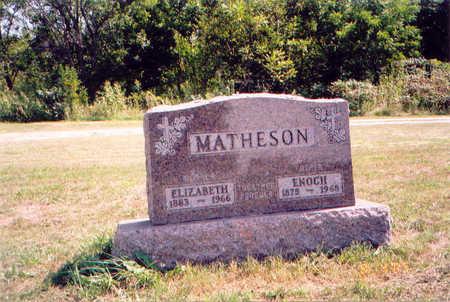 MCCOY MATHESON, ELIZABETH - Appanoose County, Iowa | ELIZABETH MCCOY MATHESON