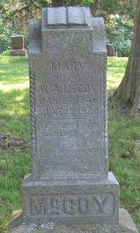 MCCOY, MARY - Appanoose County, Iowa | MARY MCCOY
