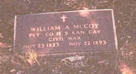MCCOY, WILLIAM ALBERT - Appanoose County, Iowa | WILLIAM ALBERT MCCOY