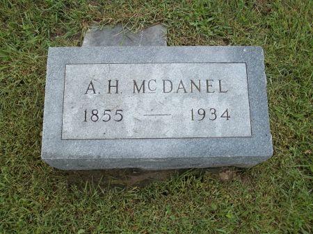 MCDANEL, A.H. - Appanoose County, Iowa   A.H. MCDANEL