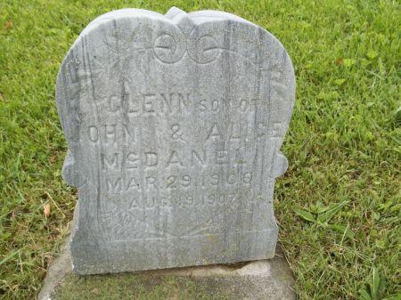 MCDANEL, GLENN - Appanoose County, Iowa   GLENN MCDANEL