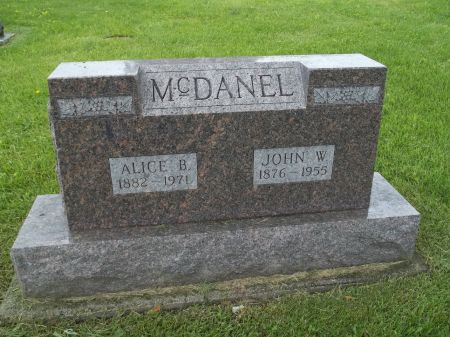 MCDANEL, JOHN W. - Appanoose County, Iowa | JOHN W. MCDANEL