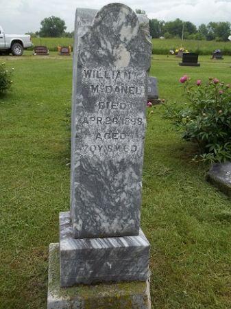 MCDANEL, WILLIAM - Appanoose County, Iowa | WILLIAM MCDANEL