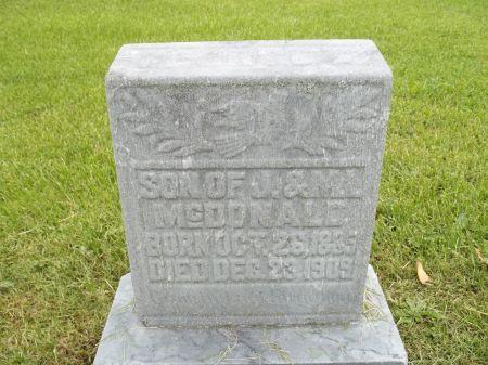 MCDONALD, SON - Appanoose County, Iowa   SON MCDONALD