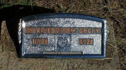 MCGHGHY, CHARLES FRANK - Appanoose County, Iowa | CHARLES FRANK MCGHGHY