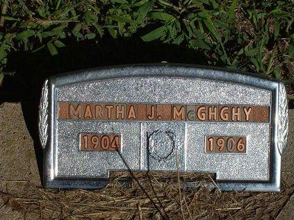 MCGHGHY, MARTHA JANE - Appanoose County, Iowa | MARTHA JANE MCGHGHY